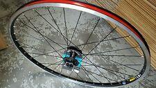 "MAVIC XM317 Front Wheel (26"") Shimano M525 Disc Hub (BLACK) Mountain Bike NEW"
