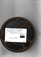 19?? FILM 16-mm DOC. PERE NOEL À MONTREAL,SCULPTURES SUR GLACE- N & B-91M-SONORE