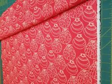 Fabric-Coral Shells-Buttercream- Clearance Sale