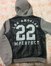 Imperfect Felpa Aperta Con Cappuccio Grigia Tg. XXL/16 Anni/40