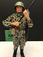 VINTAGE GI jOE 1964 MARINE BLACK PAINTED HAIR EXCELLENT CONDITION 🇺🇸🇺🇸🇺🇸