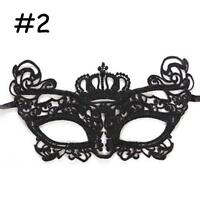 NEW Sexy Lace Mask For Halloween Masquerade Ball Party Fancy Dress Costume #2 MT