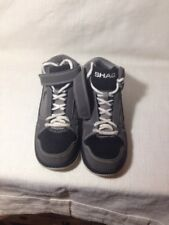 SHAQ Men Shoes Leather Gray/Black Size 7 1/2  Nice !!