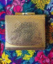 Vintage gold Glomesh wallet
