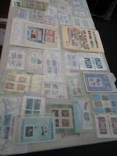 Nystamps British Samoa much mint NH stamp & souvenir sheet collection