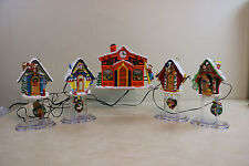 Vintage Mr. Christmas Disney Mickey's Clock Shop  Plays 21 Christmas Carols  #2