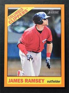 2015 Topps Heritage Minors Orange #163 James Ramsey /25 - NM-MT