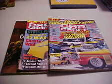 3 issues of Car Craft Aug. 87 July 1989, March 1998  Ghostbusters Cad