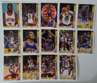 1991-92 Upper Deck Detroit Pistons Team Set Of 19 Basketball Cards