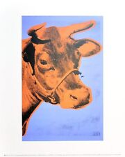Andy Warhol Cow 1971 purple & orange Poster Kunstdruck Bild 36x28cm