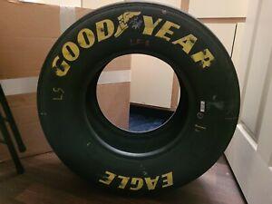 Kyle Larson Nashville Race Used Win Tire