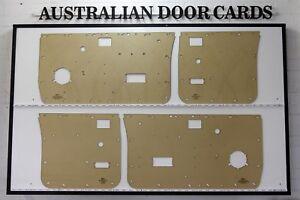 Nissan Navara D21 Twin Cab Door Cards / Trim Panels. Suit Standard Window Winder