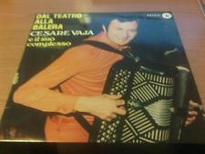 LP CESARE VAJA DAL TEATRO ALLA BALERA ASTRA LP16 VG/G+ ITALY PS