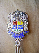 Canadian Coat of Arms Sterling Silver Souvenir Spoon Vintage