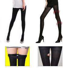 a6c14870cd Women Compression Full Foot Pantyhose Stockings Slim Thin Tight Varicose  Veins