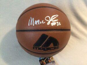 MAGIC JOHNSON SIGNED BASKETBALL I/O LA LAKERS DREAM TEAM JSA COA