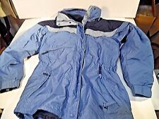 COLUMBIA Sportswear Winter Coat Hooded Parka Ski 2 In 1 Jacket Liner Womens Med