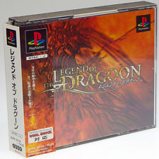 THE LEGEND OF DRAGOON PS1 Sony Japan Import PlayStation PSX Complete Very RARE