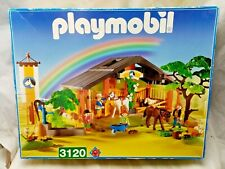 Playmobil 3120 Horse Stables Large Set Inc Horses Ponies People Boxed