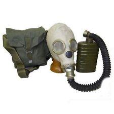 Russ. Schutzmaske Gasmaske  + Schlauch + Filter neuwertig ABC Schutz