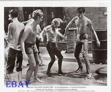 Barechested Men dance in street VINTAGE Photo Day The Earth Caught Fire