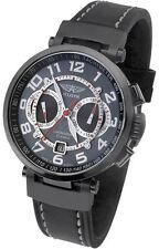 Mechanische - (Handaufzugs) Armbanduhren im Flieger-Stil mit Chronograph