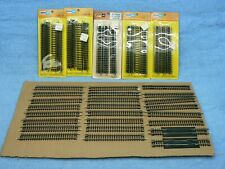 vintage atlas n scale straight track 2501 lot of 54 USA