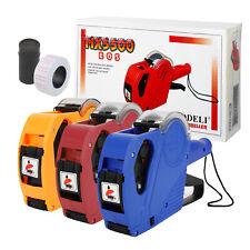 Price Tag Gun Mx-5500 Eos 8 Digits Labeler Labeller w/ ( Labels & Ink Refills )