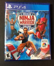 American Ninja Warrior Challenge (PS4) NEW