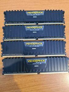 Corsair Vengeance LPX DDR4 kit 16 GB 4 x 4 GB DIMM RAM CMK16GX4M4A2133C13 Memory
