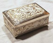 800 SILVER JEWELRY TRINKET BOX 290g FROM PAST INDONESIAN PRESIDENT BJ HABIBIE