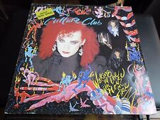 33 TOURS / LP--CULTURE CLUB--WAKING UP WITH THE HOUSE ON FIRE--1984