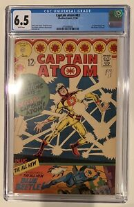 (1966) CAPTAIN ATOM #83 CGC 6.5 1st Appearance Blue Beetle (Ted Kord)! WP!