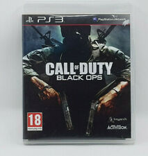 Call Of Duty Black OPS PS3 Activision Treyarch Sony Game Playstation 3 Action