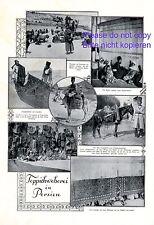 Teppichweberei in Persien 1924 XL S. mit 7 Fotoabbildungen Persischer Teppich +