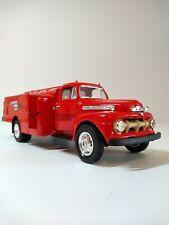 1951 Ford F6 Fuel Tanker 1/34 - Mobilgas - First Gear # 19-1023
