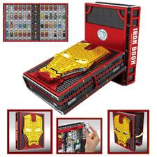 NEW Marvel Iron Man Book 52pcs MK1-85 Tony Stark War Machine Minifigures