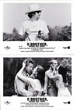 O Brother, Where Art Thou? Joel Coen Lot 6 Photos Original Vintage 2000