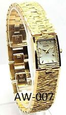 Elgin Ladies Gold-tone, Mother of Pearl dial Dress Watch, EG 777