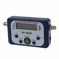 Digital LCD Buscador medidor de senal de satelite Directv Dish con Brujula FA W4