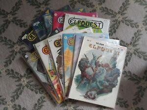 ElfQuest Original lot #1-21 magazine run (1978, Warp, Pini, Good) COMPLETE set