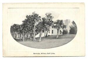 Postcards-West Indies-Bermuda-Ptd. The Militar Golf Links