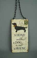 Dogs & Puppies Decorative Hanging Signs