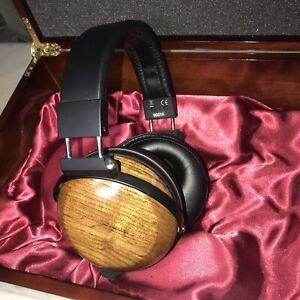 Massdrop Fostex TR-X00 PH Teak Headphones Audeze ZMF Denon Emu XC TH Drop