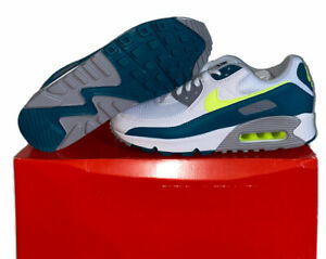 """Nike Air Max 3 """"Spruce Lime"""" Shoes - Size Men's 8.5-CZ2908-100 - No Lid"""