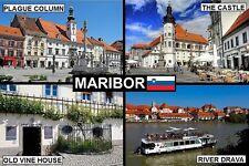 SOUVENIR FRIDGE MAGNET of MARIBOR SLOVENIA