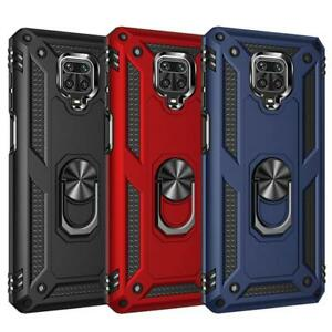 Shockproof Armor Magnetic Metal Case For Xiaomi Redmi Note 9 9c 9s 8 7 10 8t Poc