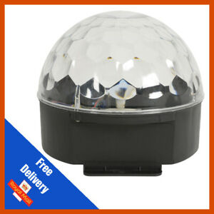 QTX Moonglow LED Mirrorball Type LED Effect Light Disco DJ Party