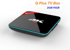 Q Plus Android6.0 TV Box S912 Octa-core 2G/16G Dual WiFi H.265 Smart Set Top Box