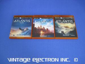 ORIGIN MYSTERY TRILOGY: by A.G. Riddle Audio MP3-CD Atlantis Gene, Plague, World